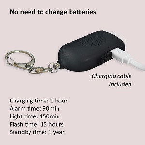 Rechargeable alarm